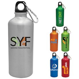 Promotional 20 oz. Aluminum Venice Water Bottle
