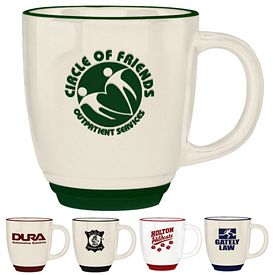 Promotional 14 oz. Diplomat Bistro Coffee Mug