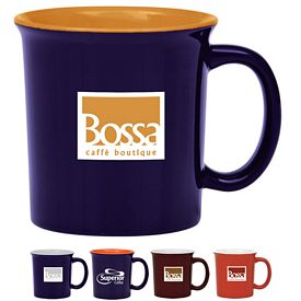 Promotional 14 oz. Universtity Coffee Mug