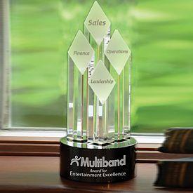 Promotional Majestic Diamond Tower Award