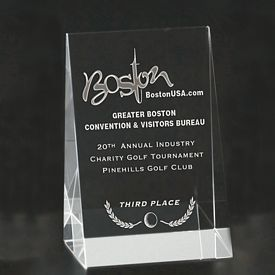 Promotional Small Wedge Award