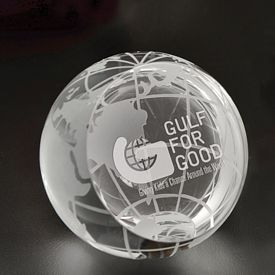 Promotional Small Magellan Globe Paperweight