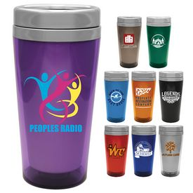 Promotional 16 oz. Steel City Voyager Tumbler