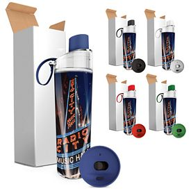 Promotional 15 oz. Excursion 4CP Insert Dual Lid Bottle Set