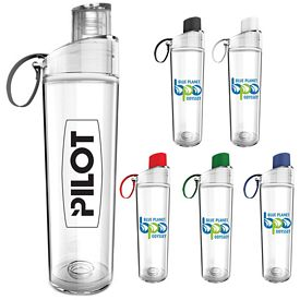 Promotional 15 oz. Excursion Dual Lids Cold Beverage Bottle