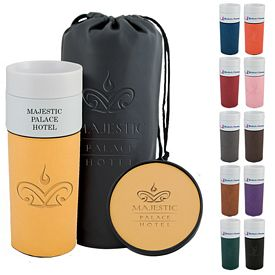 Promotional 14 oz. Alta Leatherette Tumbler Gift Set