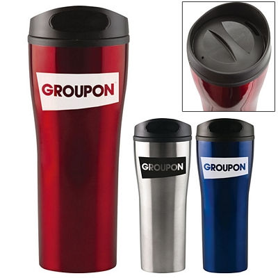Custom 18 Oz Prelude Stainless Travel Tumbler