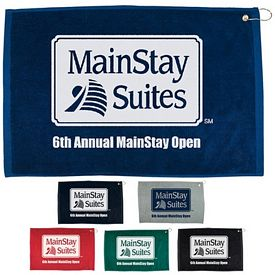 Customized 16X25 Hemmed Color Towel