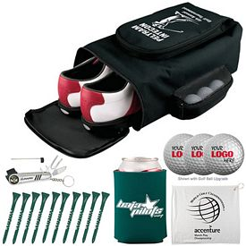 Customized Deluxe Shoe Bag Golf Tournament Kit