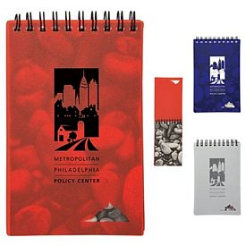 Promotional 3-1-2X5 Stone Paper Jotter