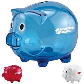 Promotional Piglet Coin Bank