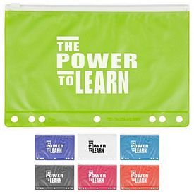 Customized Slide Lock School Pencil Pouch