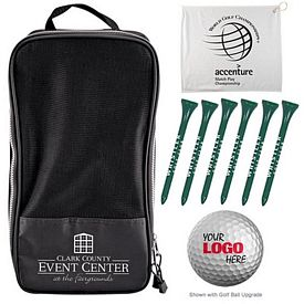 Promotional Shoe Tote Golf Tournament Kit