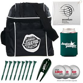 Promotional Voyager Cooler Bag Golf Tournament Kit