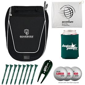 Custom Voyager Shoe Bag Golf Tournament Kit