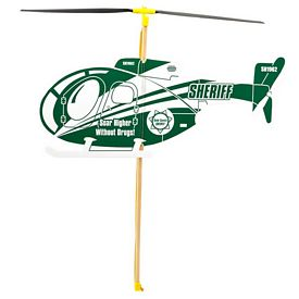 Promotional Police  Foam Toy Helicopter
