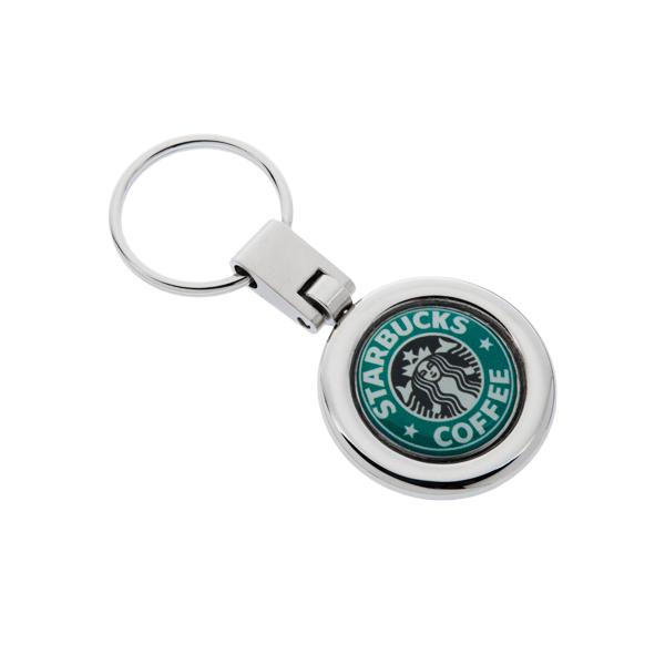 Customized Genoa Epoxy Dome Keychain  daeaf5c91