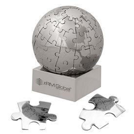 Custom Globe Magnetic Large 72 Piece Puzzle