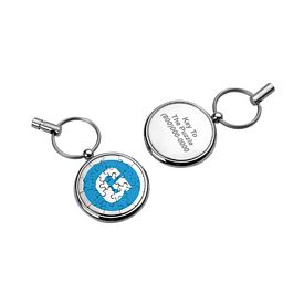 Promotional Magnetic 19 Piece Puzzle Keychain