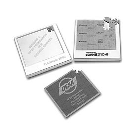 Customized Logo Promo Magnetic Puzzle
