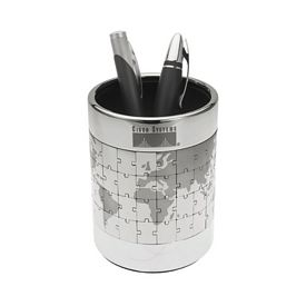 Promotional Puzzle Earth Pen Cup