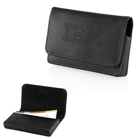 Promotional Varese Bonded Leather Card Case