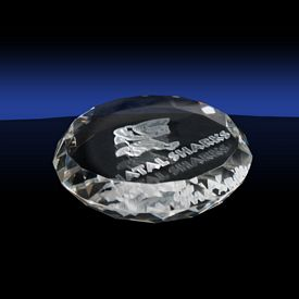 Promotional Round Shaped Paperweight