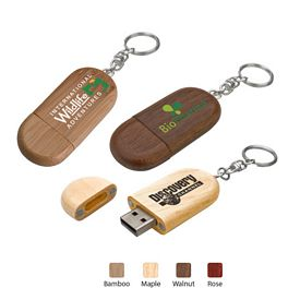 Promotional Legno Usb 20 Flash Drive