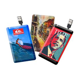 Promotional Maxixi Credit Card Usb 20 Flash Drive