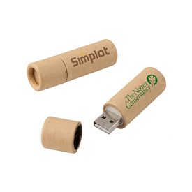 Promotional Papel Recycled Paper Usb 20 Flash Drive