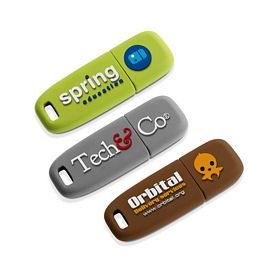 Custom 3D-Logo Usb 20 Flash Drive