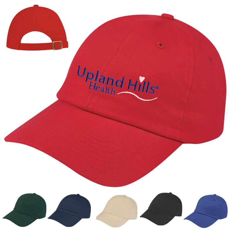 a216fcf8 Customized Embroidered Brushed Cotton Twill Cap | Promotional ...