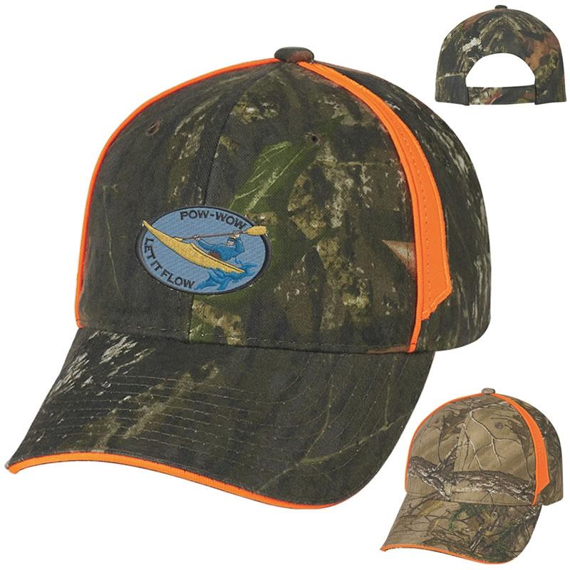 9b1eeebb39935 Promotional Realtree   Mossy Oak Blaze Camouflage Cap