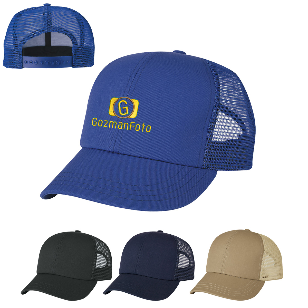 f4446cea744 Customized USA Made Mesh Back Cap