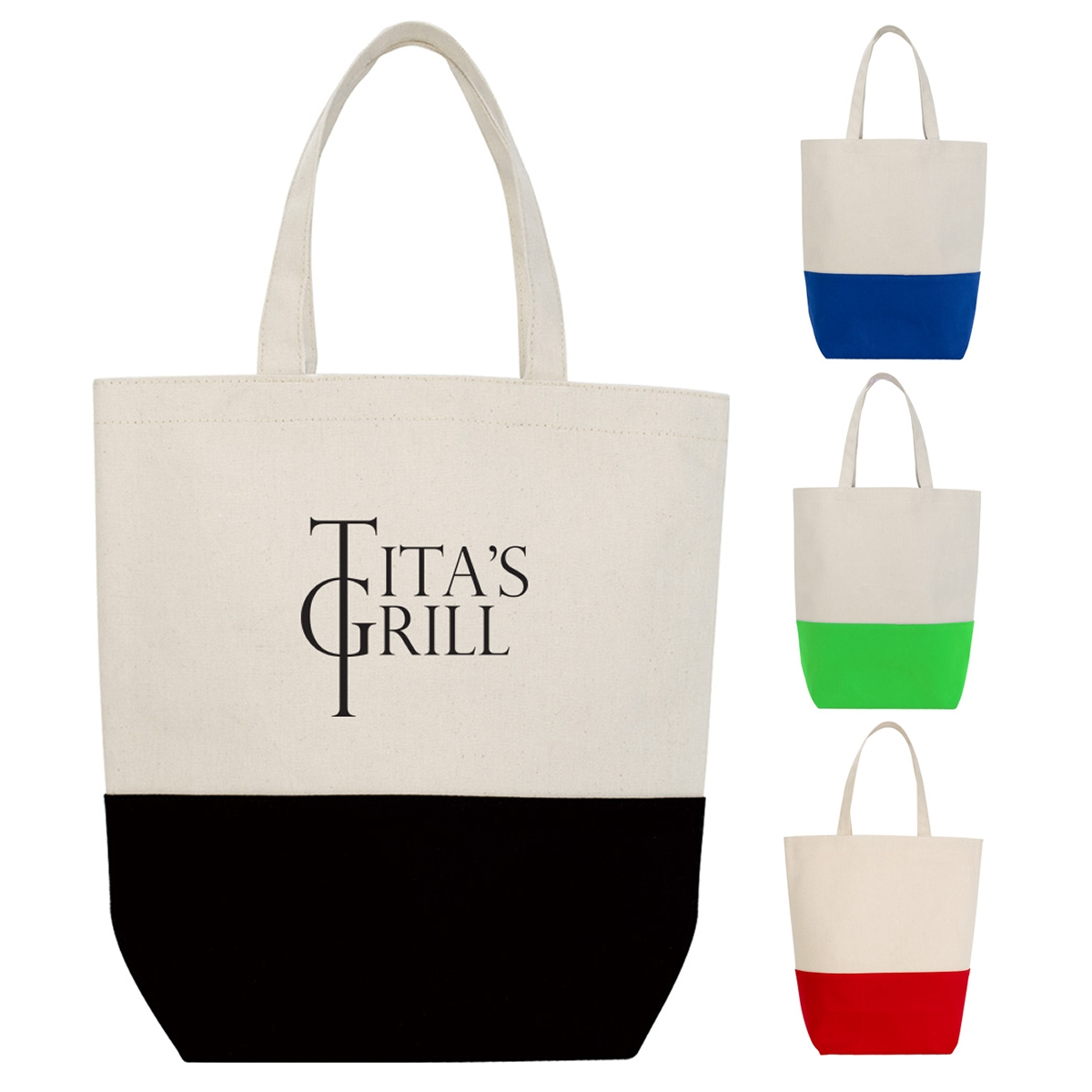 ee27c0063 Promotional Tote-And-Go Canvas Tote Bag   Customized Tote-And-Go Canvas  Tote Bag   Promotional Canvas Tote Bags