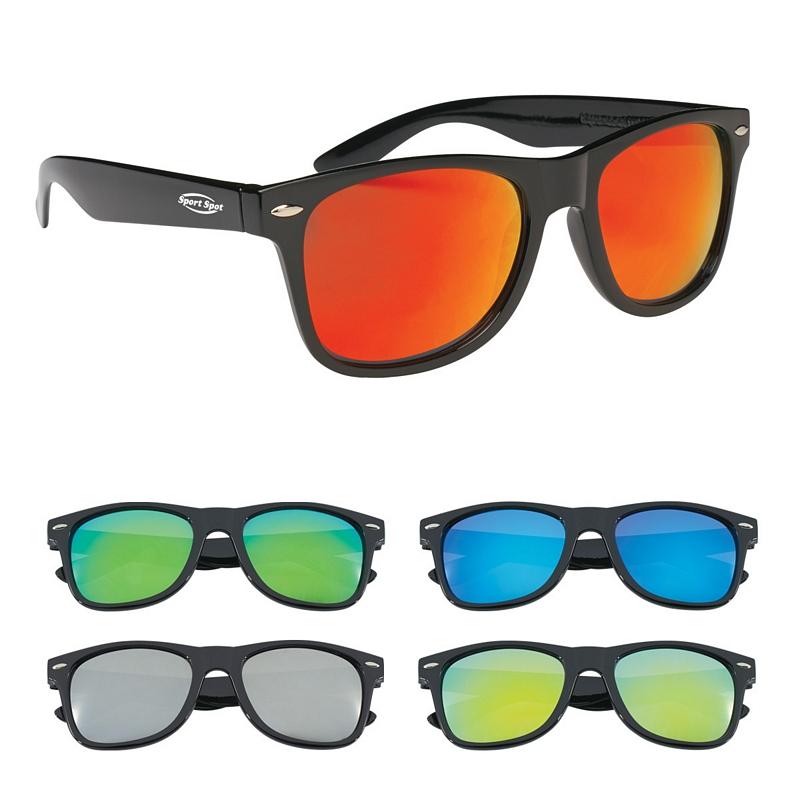 c6b3b8a12b3 Promotioinal Mirrored Malibu Sunglasses