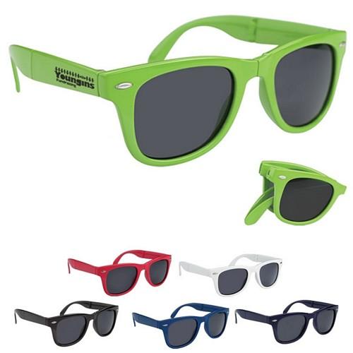 05b88fd237e Promotioinal Folding Malibu Sunglasses