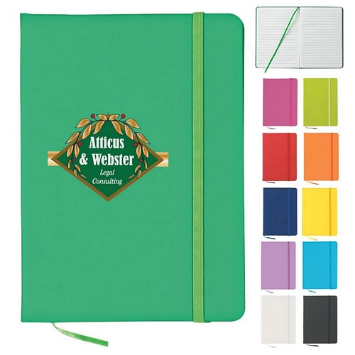 customized 5 x 7 writers journal notebook promotional 5 x 7