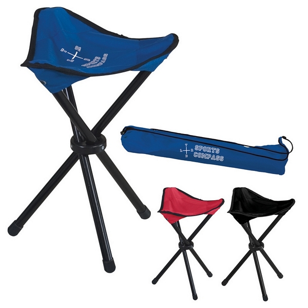 Customized Folding Tripod Stool With Carrying Bag