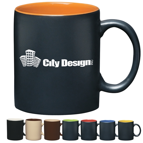 Promotional 11 Oz Aztec Coffee Mug Customized 11 Oz