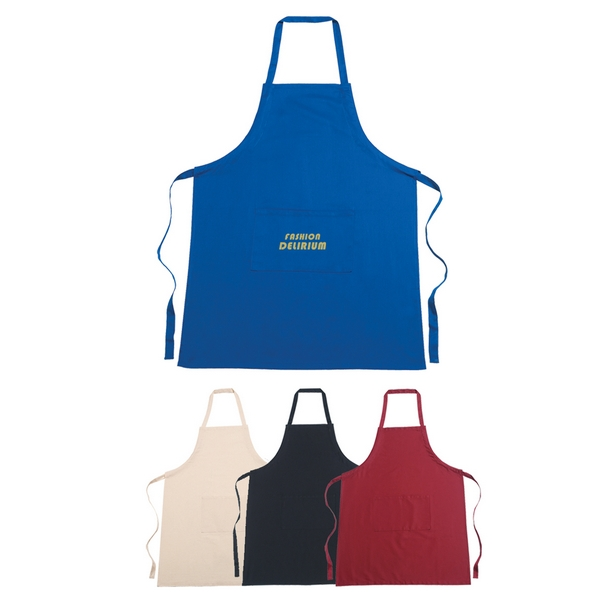 promotional 100% cotton screen printed apron | customized 100 ...