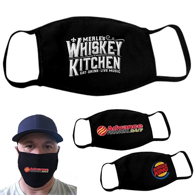 Customized Custom Logo Face Covers