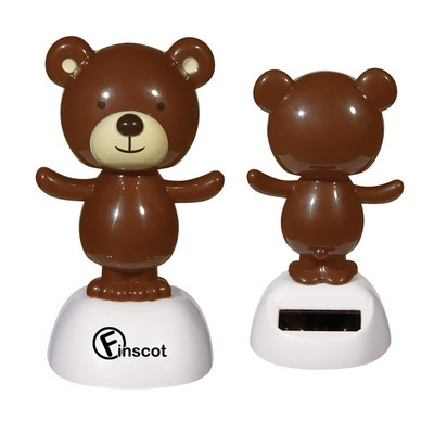 Custom Solar Powered Dancing Bear