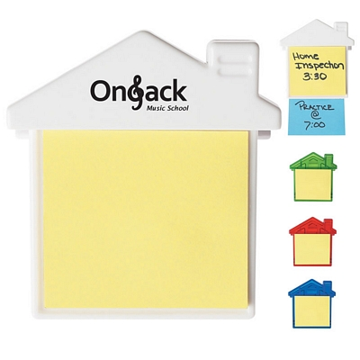 Customized House Clip With Sticky Notes