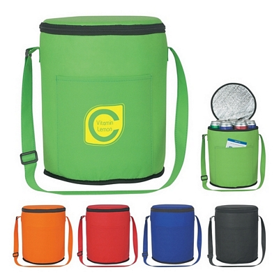 Promotional Non-Woven Round Kooler Bag