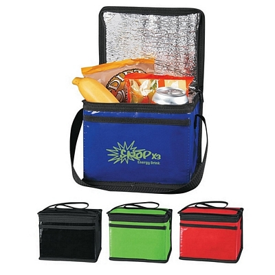 Promotional Laminated Non-Woven Six Pack Kooler Bag