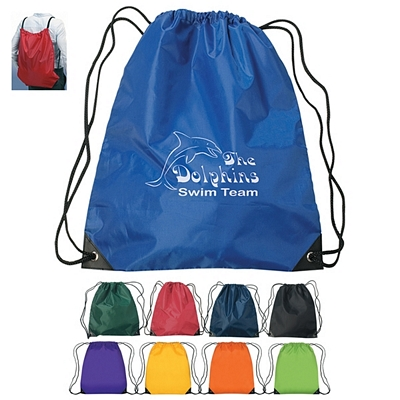 Promotional Large Fun Style Sports Drawstring Backpack