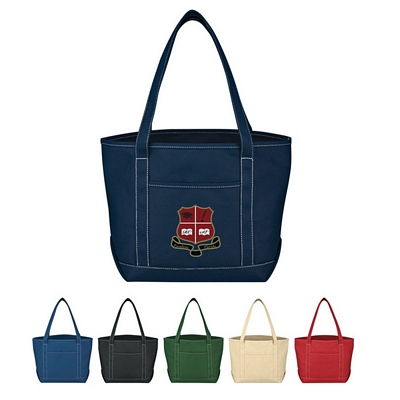 Promotional Medium Cotton Canvas Yacht Tote Bag