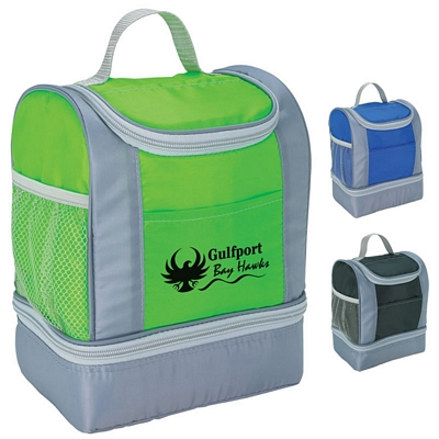 Promotional Two-Tone Insulated Lunch Bag