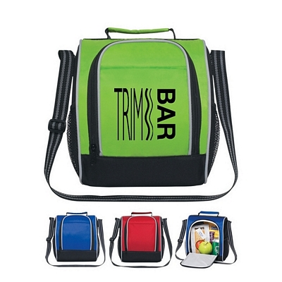 Customized Insulated Side Opening Lunch Bag